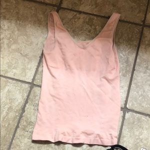 Peach shape wear tank top